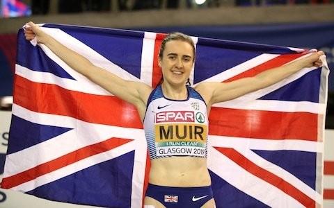 Meteoric Laura Muir in best 'form of her life' ahead of London Anniversary Games
