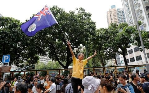 Hong Kong is an island of freedom. Britain cannot just ignore what is happening there