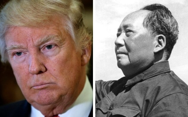 Donald Trump echoes Chairman Mao by attacking media as 'enemy of the people'