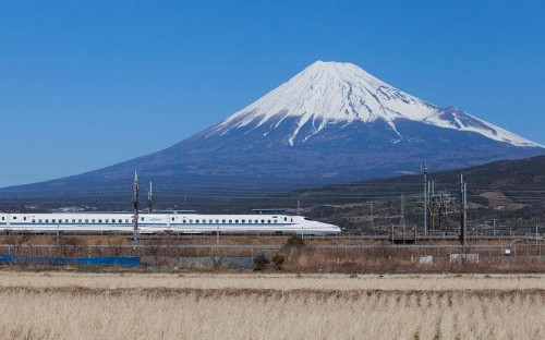 Japan: travelling by train