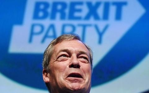 Nigel Farage's new Brexit Party surges to top of European elections poll as Ukip loses support