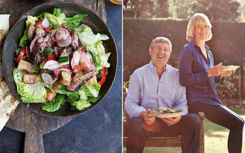 Katie and Giancarlo Caldesi's search for the world's best salads
