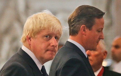 Boris Johnson allies jump to his defence as David Cameron claims PM chose Leave as career move