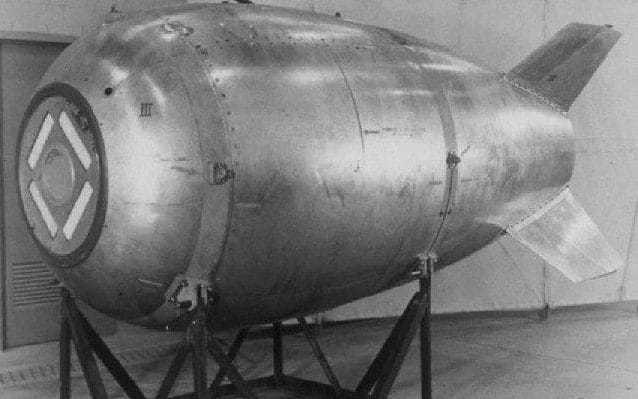 Missing Cold War nuclear bomb remains a mystery after Canadian navy investigates object found by diver