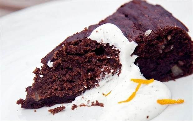 Chocolate, amaretto and rapeseed oil cake recipe