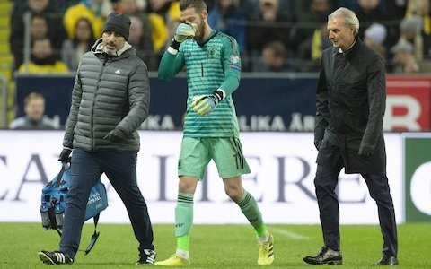 Manchester United handed double injury blow as David de Gea and Paul Pogba are ruled out of Liverpool visit