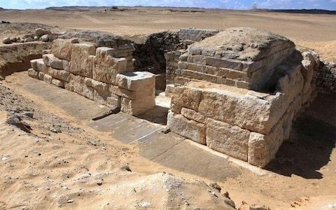 Tomb of unknown Egyptian queen discovered near Cairo