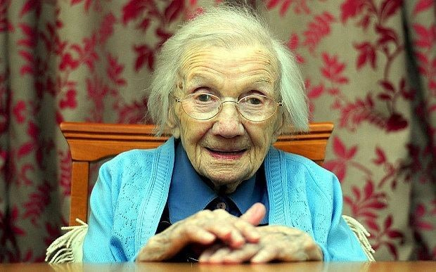 109-year-old woman reveals amazing theory on the secret to a long life