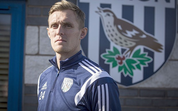 Darren Fletcher leads from the front in West Brom's battle to avoid the drop from Premier League