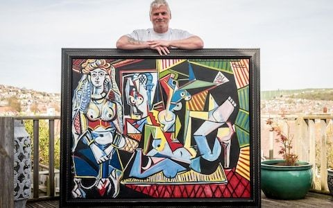 Art researcher who planned to sell 'Picasso' learns it is a fake by infamous art forger