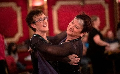 'I'm sad Strictly didn't bite the bullet and do it five years ago' Same-sex ballroom dancer Jacky Logan on abuse, awards and ambitions