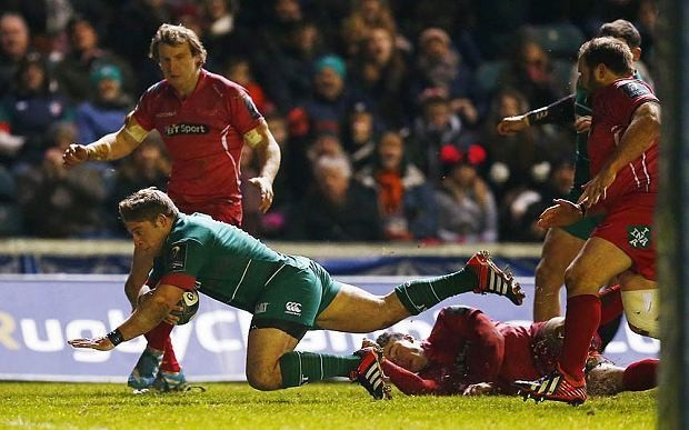 Leicester 40 Scarlets 23, match report: Youngs shows his class to revive Tigers' hopes