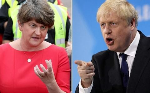 DUP warns Boris Johnson: No amount of money can persuade us to back your Brexit deal