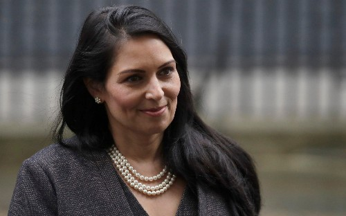 Priti Patel denies claims she tried to oust her top civil servant