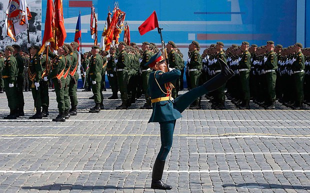 Russia celebrates Victory Day as Western leaders boycott parade