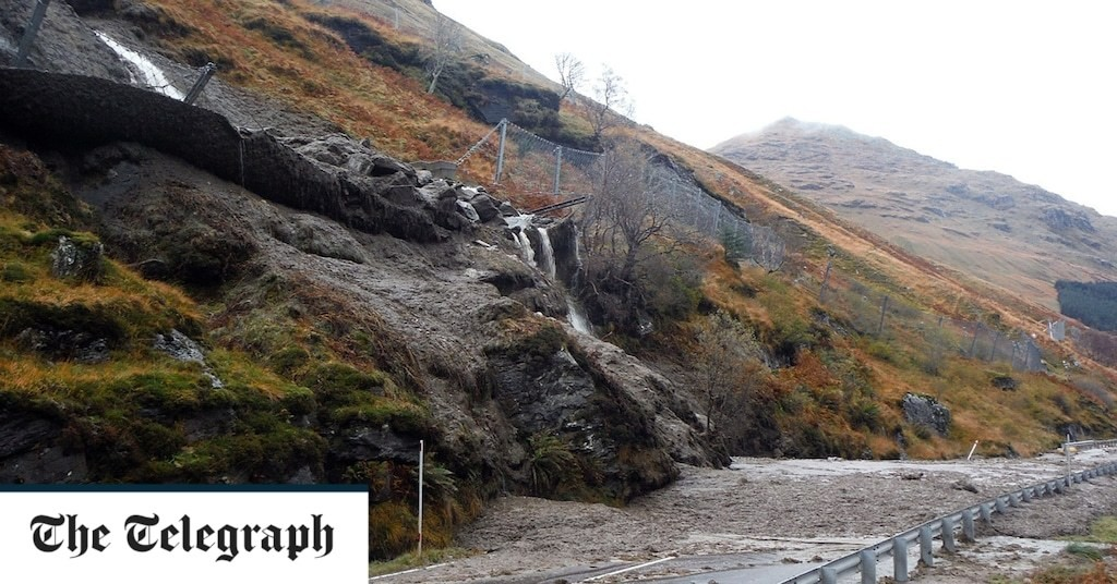 Woodland plan to stop Rest and Be Thankful landslides