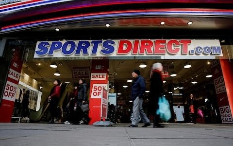 Sports Direct blames House of Fraser 'uncertainty' for delaying results