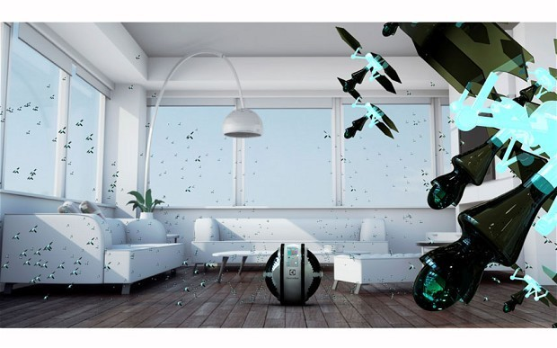 Flying mini-robot cleaners win design competition