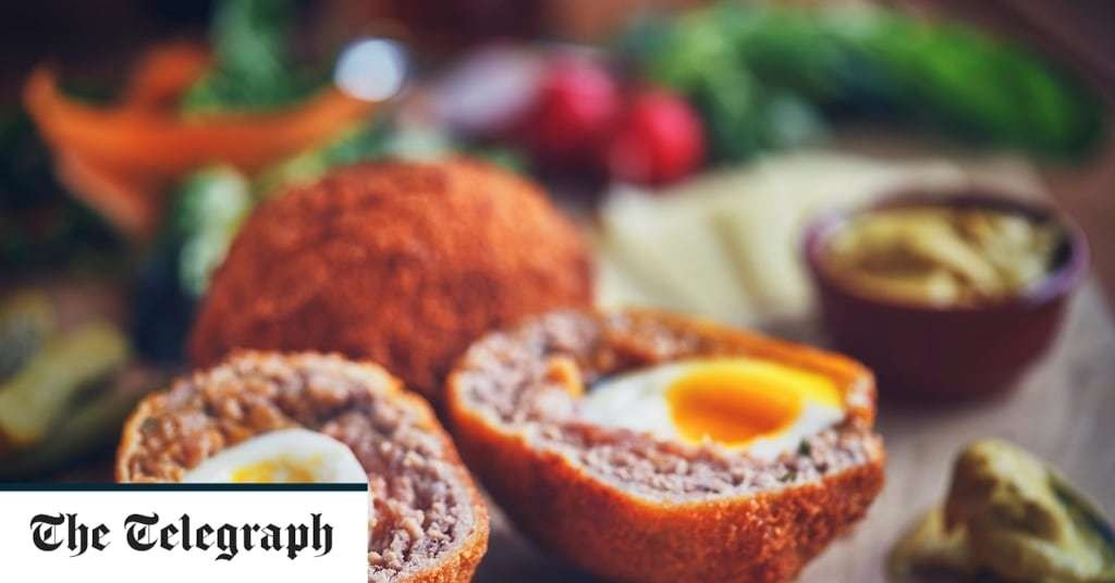 Scotch egg counts as 'substantial meal' in Tier 2, says minister