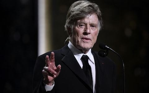Actor Robert Redford issues rallying call to avoid 'disaster' and boot Donald Trump in 2020