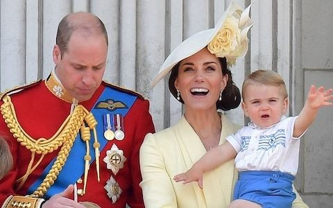 A Royal family day out as Prince Louis and the Duchess of Sussex join the Queen for Trooping the Colour