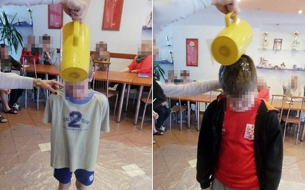 Dirty water poured over children's heads as punishment in Polish child home