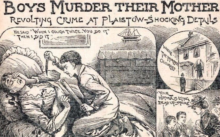 Murder - Magazine cover