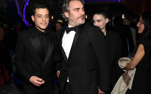 'Got any alcohol?' whispered Joaquin Phoenix: what happened at the 2020 Vanity Fair Oscar party