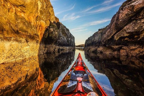 Norway's fjords by kayak: Stunning Scandinavian landscape photographs - Telegraph