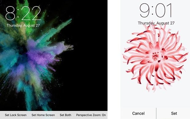 iPhone 6s to feature animated backgrounds like the Apple Watch