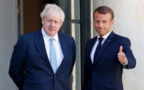 Boris Johnson will tell Donald Tusk that France and Germany are ready for Brexit talks