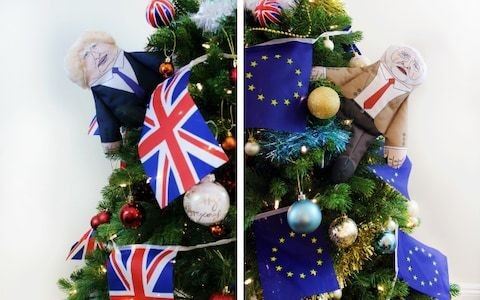Introducing the 'oven-ready,' £1000 Brexit Christmas tree