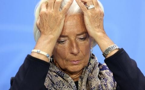 IMF fears the world's financial system is even more destructive than in 2008