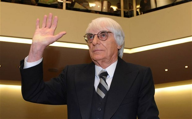 Bernie Ecclestone says he has full support of the owners of Formula One and will stay as the sport's chief executive