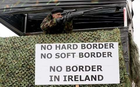 Ireland under EU pressure to lay out plans for border as fears mount that no-deal Brexit is unavoidable