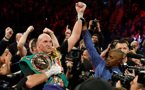 Tyson Fury beats Deontay Wilder: in pictures