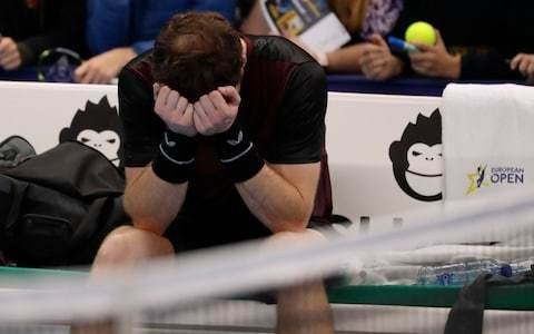 Andy Murray breaks down in tears after winning first singles title on comeback trail