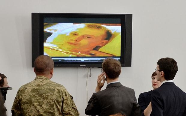 Two men captured by Ukraine say they are 'Russian soldiers'