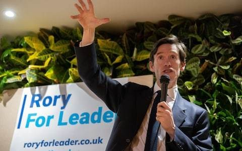 The rise and fall of Rory Stewart