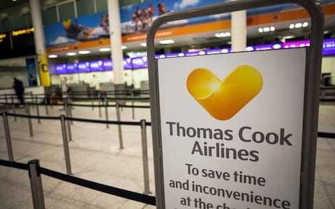 How Thomas Cook's fate has been taken out of its own hands