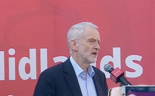 Corbyn criticises MPs who quit Labour to sit alongside former Tories