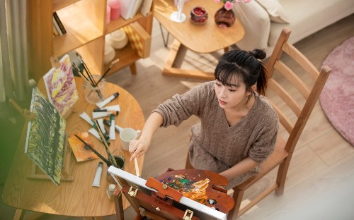 Learn to make art in self-isolation – with tips from top artists