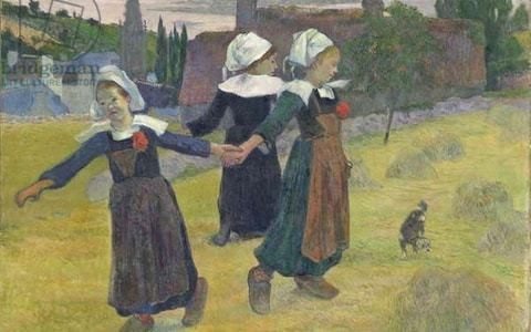 When Paul Gauguin went wild in Brittany