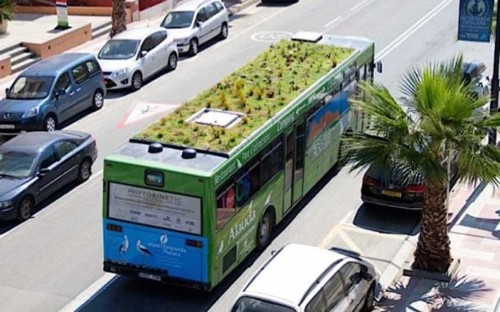 Madrid plans to plant gardens on top of the city's buses