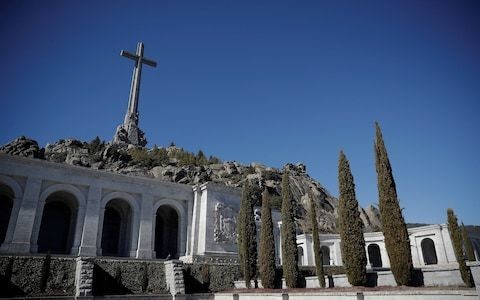 Spanish cemetery accused of lying about cremating 3,000 Franco victims as rains expose mass grave
