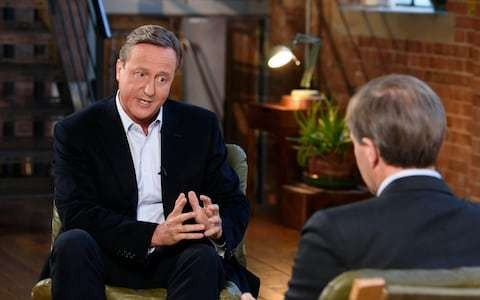The Cameron Interview, review: Half-hour box-ticking back-and-forth leaves viewers wanting more