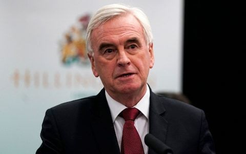 John McDonnell says he will not be part of the next shadow cabinet
