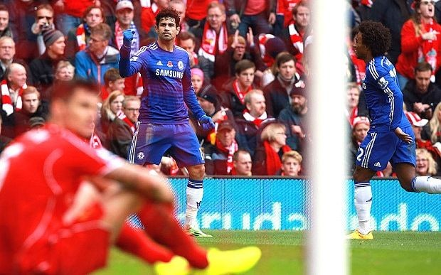Chelsea already looking like champions as they pile pressure on Liverpool with victory at Anfield