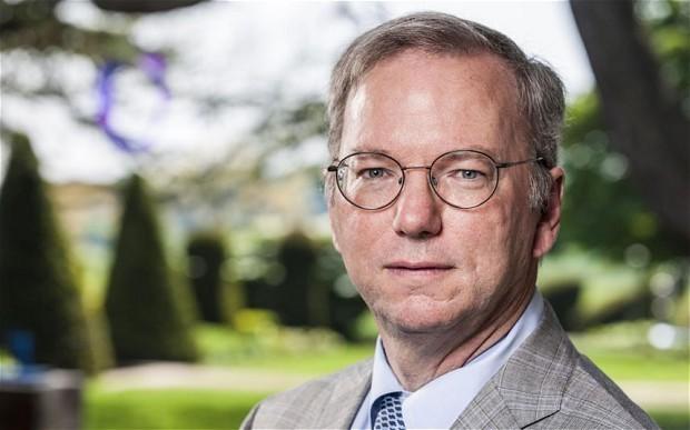 Google chief Eric Schmidt criticises politicians over tax row