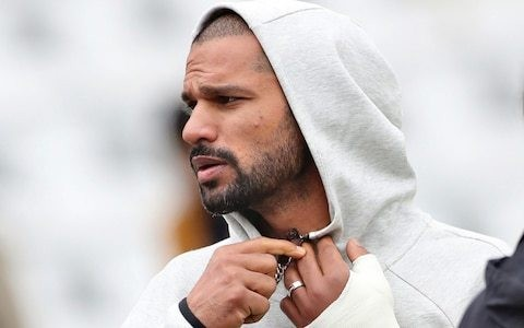 India blow as opening batsman Shikhar Dhawan ruled out of Cricket World Cup